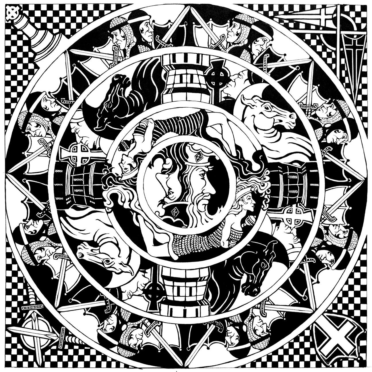 Chess Mandala