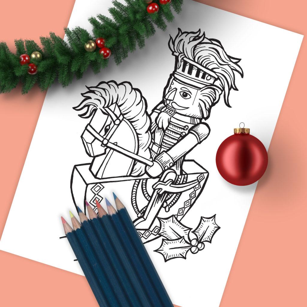 Christmas Nut Cracker Drawing